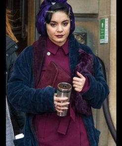 The Princess Switch Switched Again Vanessa Hudgens Velvet Coat