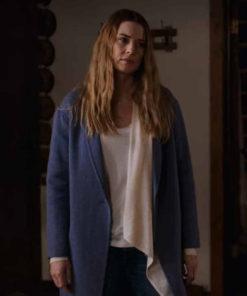 Virgin River S02 Alexandra Breckenridge Blue Coat