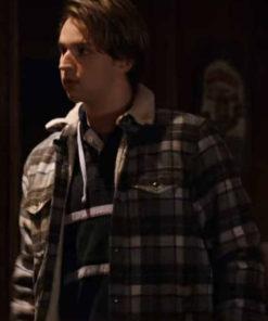 Virgin River S02 Grayson Maxwell Plaid Wool Jacket