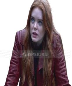 Bloom Fate The Winx Saga Abigail Cowen Red Jacket