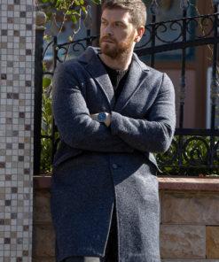 50M2 Engin Ozturk Grey Coat