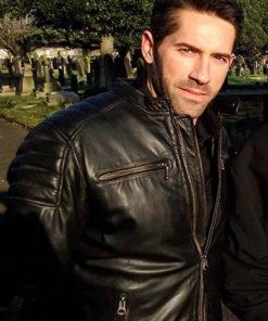 Scott Adkins Accident Man Leather Jacket