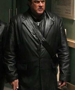 Steven Seagal Against the Dark Coat
