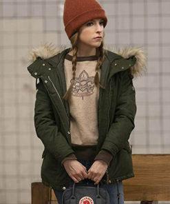 Love Life Anna Kendrick Green Jacket