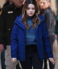 Big Sky Grace Sullivan Blue Cotton Jacket
