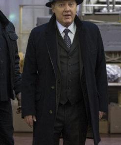 The Blacklist James Spader Wool Trench Coat