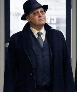 Raymond The Blacklist Black Long Coat