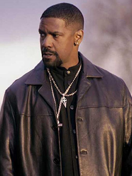 Training Day Denzel Washington Black Coat