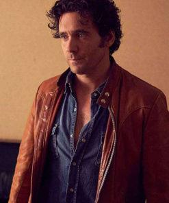 Allan Hawco Caught Leather Jacket