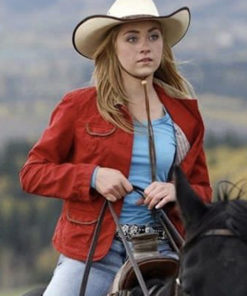 Heartland Amber Marshall Red Jacket