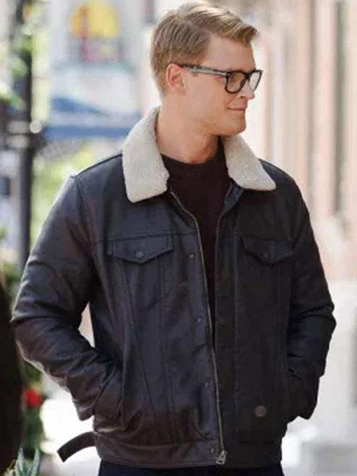 Adrian Spencer Dashing Home for Christmas Black Jacket