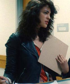 Eiza González I Care a Lot Leather Jacket