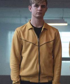 Alex Rider Otto Farrant Red Yellow Jacket