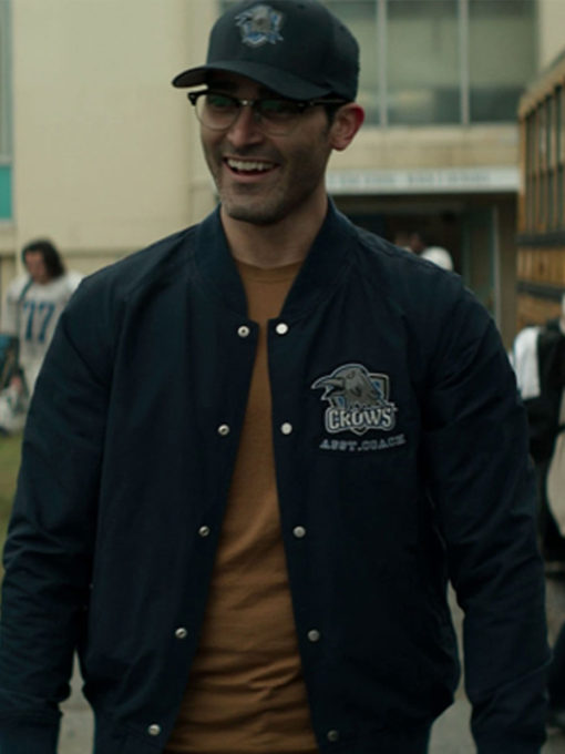 Tyler Hoechlin Superman and Lois Varsity Jacket