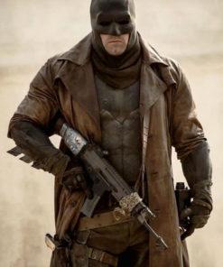 Zack Snyder's Justice League Ben Affleck Coat