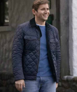 Allen Leech As Luck Would Have It Brennan Black Quilted Jacket