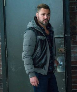 Patrick John Flueger Chicago P.D. Hooded Jacket