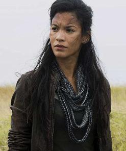 Fear The Walking Dead S04 Luciana Galvez Leather Jacket