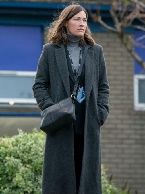 Kelly Macdonald The Line of Duty Jo Wool Coat