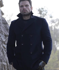 The Falcon and the Winter Soldier Sebastian Stan Wool Coat