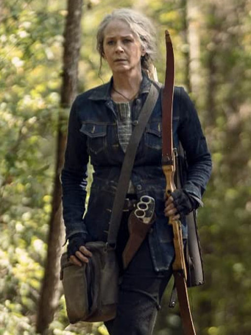 The Walking Dead Season 10 Carol Blue Jacket