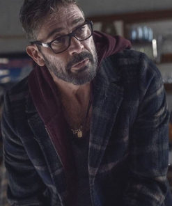 The Walking Dead S10 Jeffrey Dean Morgan Plaid Coat