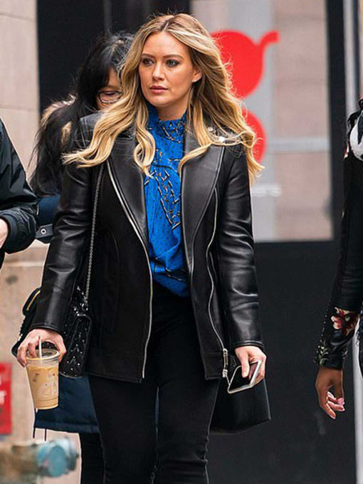 Younger Hilary Duff Leather Jacket