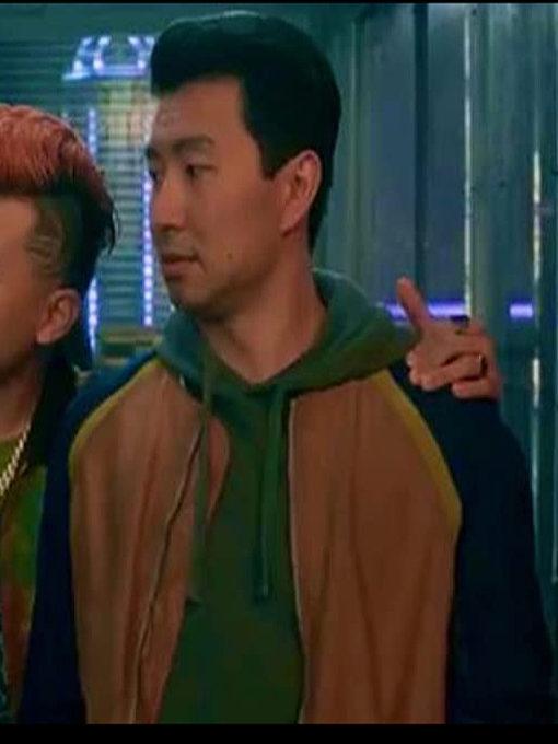 Simu Liu bomber Jacket
