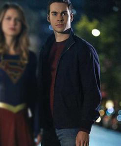 Mon-El Supergirl Chris Wood Cotton Jacket