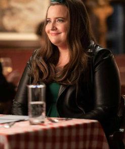 Annie Easton Shrill Black Leather Jacket