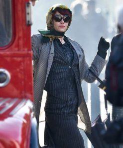 Cruella 2021 Emma Stone Trench Coat