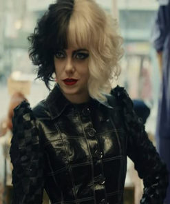 Emma Stone Cruella Black Jacket