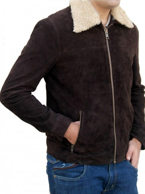 The Walking Dead Rick Grimes Brown Leather Jacket