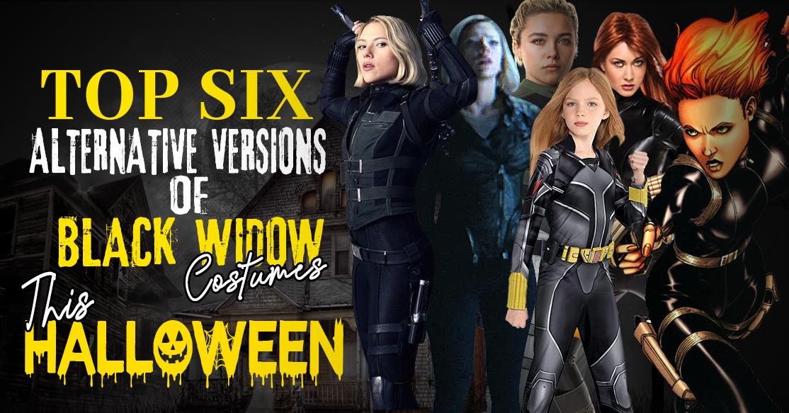Top Six Alternative Versions of Black Widow Costumes This Halloween-0