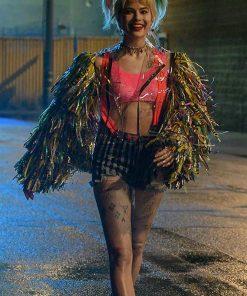 Margot Robbie Birds of Prey PVC Jacket