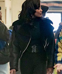 Patina Miller Black Jacket