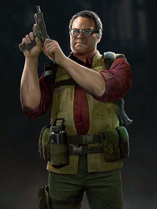 Game Back 4 Blood Hoffman Green Vest