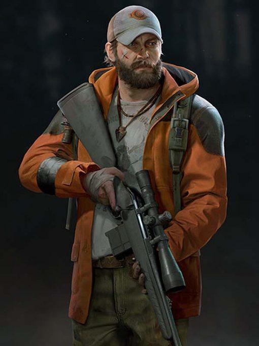 Game Back 4 Blood Jim Orange Jacket