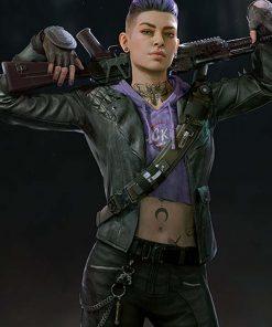 Karlee Back 4 Blood Leather Jacket